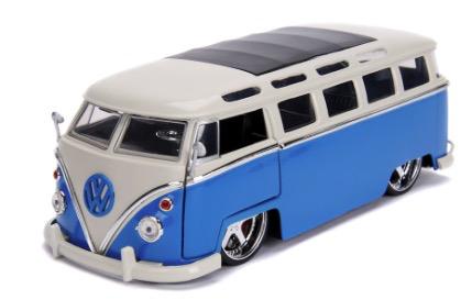 Diecast DDA 1:24 BTK 1962 VW Bus Glossy Bus Glossy Blue