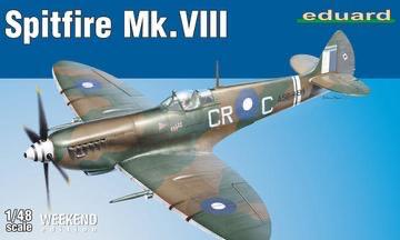 Plastic Kits Eduard 1/48 Spitfire Mk. VIII Plastic Model Kit