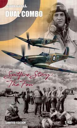 Plastic Kits EDUARD (l) 1/48 Scale -  British WWII Spitfire MK.I, The Spitfire Story Limited Edition Plastic Model Kit