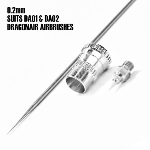 Paint SMS Dragonair Airbrush 0.2mm Nozzle Kit