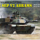 Plastic Kits Ryefield 1/35 M1A2 Sep V2 Abrams Plastic Model Kit