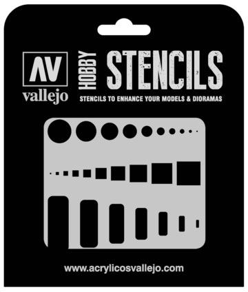 Paint Vallejo 1/32 Access Trap Doors Stencil