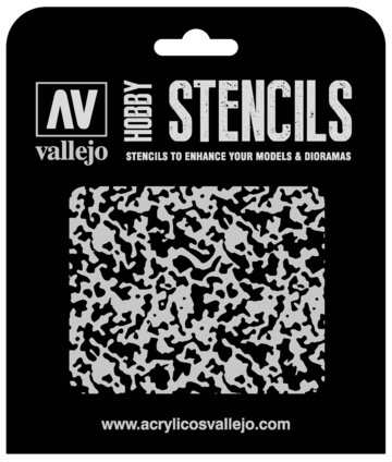 Paint Vallejo 1/48 Weathered Paint Stencil