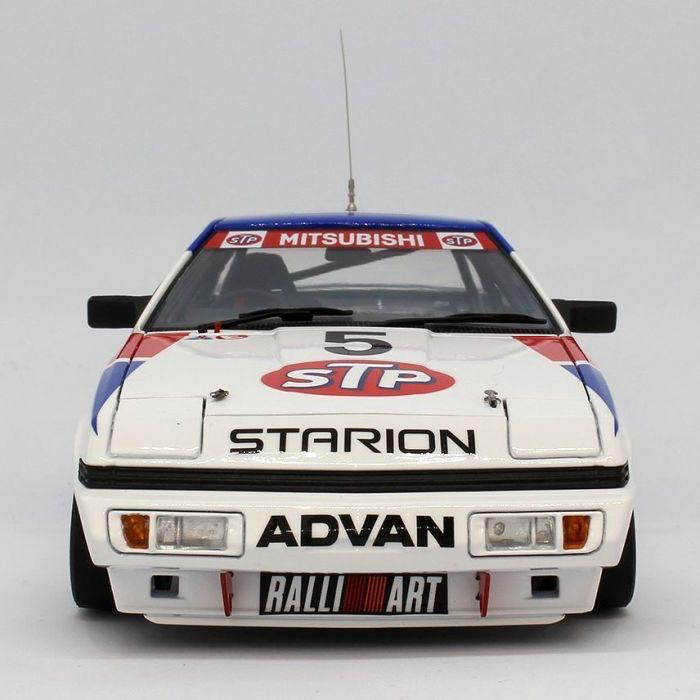 Plastic Kits Beemax 1/24 Mitsubishi Starion Rally Gr.A (2 Versions) Plastic Model Kit