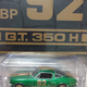 Diecast DDA  #92 BP 1966 Shelby Mustang GT350H Green & Gold (Chase Car)