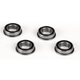 Parts Losi 8x14x4 Flanged Rubber Seal Ball Bearing (4)