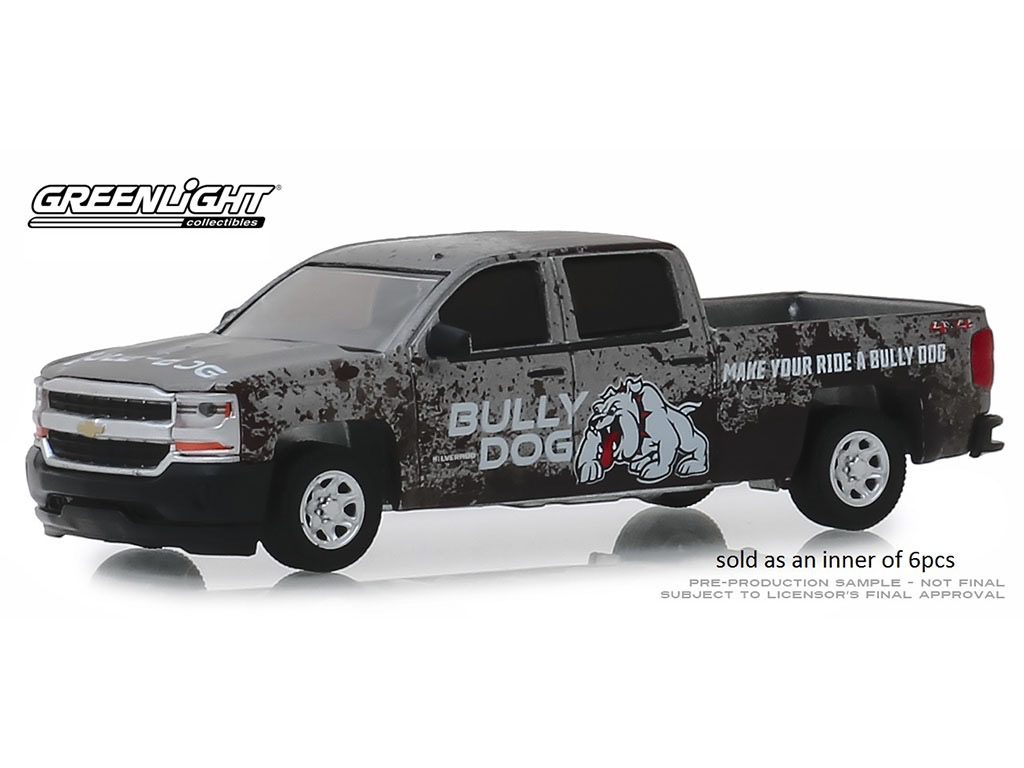 Diecast Diecast 1:64 Bully Dog Make Your Ride A Bully Dog 2018 Chevy Silverado