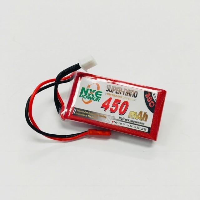 Battery LiPo NXE 7.4v 450mah LiPo 30c Soft Case w/JST