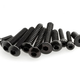 Parts Axial 3x8mm Hex Socket Tapping Button Head (Black) (10pcs)