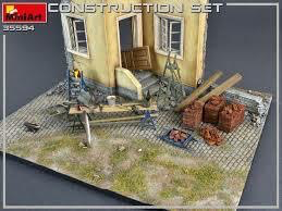 Plastic Kits Miniart 1/35 Construction Set  Plastic Model Kit
