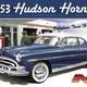 Plastic Kits MOEBIUS (m)  1/25 Scale - 1953 Hudson Hornet (Re-Issue) Plastic Model Kit