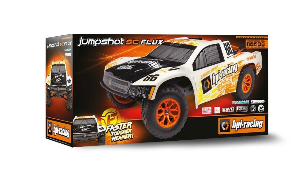 Cars Elect RTR HPI Jumpshot SC Flux 1/10  Electric Short Course Truck