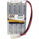 Battery NiMh MI Power Battey Eneloop 2000mA AA 9.6V  Metro Tamiya