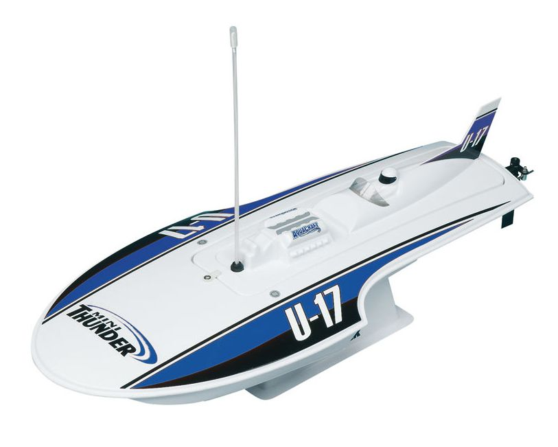 Boats Elect RTR Aquacraft EP Mini Thunder RTR Blue