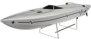 Boats Elect RTR Equipage Daytona 100. Yellow 100 cm x 22 cm x 10 cm