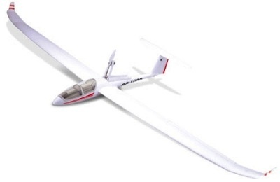Aircraft Glider Elect ST Model DG 1000 RTF Power Glider w/retract Motor