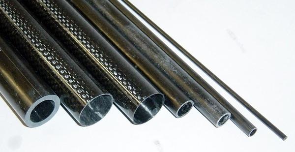 Carbon Carbon Fiber Tube 1m x 7x5mm