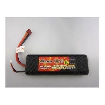 Battery LiPo Gens Ace 4000mAh 7.4v 25C Hardcase LiPo
