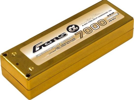 Battery LiPo Gens ALPHA 7000mAh 50C 7.4V  Hardcase LiPo