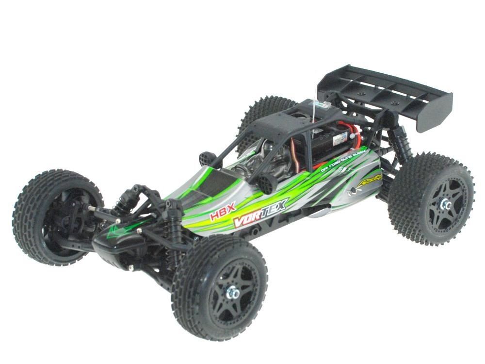 Cars Elect RTR HBX 1/12 Scale Vortex Buggy w/Brushed Motor & 2.4G Radio Installed.