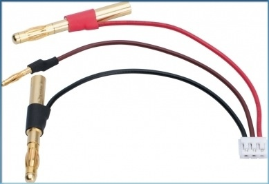 Battery LiPo LRP LiPo Hardcase balancing adapter - 4/2mm female plug to EHR plug