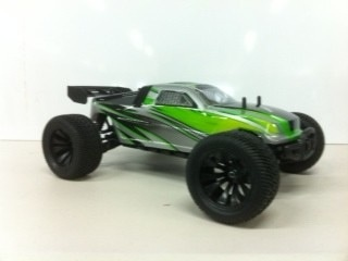 Cars Elect RTR HBX 1/12 Scale Onslaught Truggy Brushed Motor 2.4G Radio w/Li-ion Battery & Charger