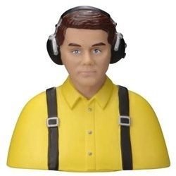 Aircraft GP 1/5 Pilot Scale Civilian Yellow