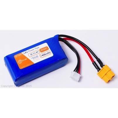 Battery LiPo Hyperion 1400mA 3S G6 60Cmax HV LiPo Pack