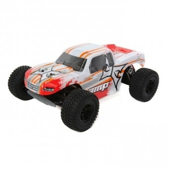 Cars Elect RTR Electrix Amp 1/10 2wd Monster Truck RTR - White / Orange incl Battery & Charger