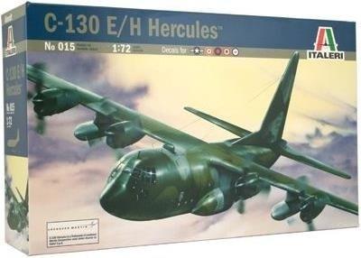 Plastic Kits ITALERI C130 E/H Hercules *Aust Decals* 1/72