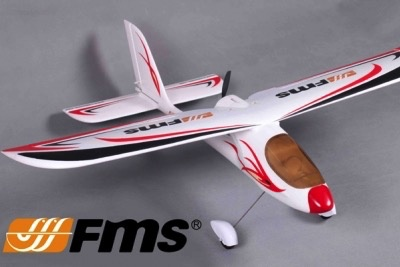 Aircraft Electric FMS Red Dragonfly 900mm RTF Mode 1& 2. (Please select)