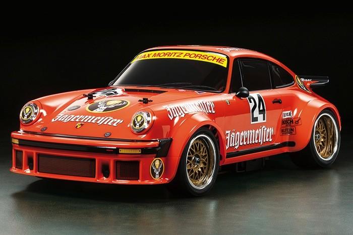 Cars Kit Tamiya RC Porsche 934 Jagermeister Kit - TA02SW