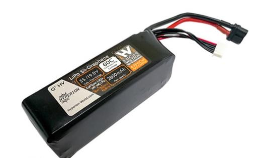 Battery LiPo Hyperion G7 5S 2800MAH SI-GRAPHENE HVLI 60CMAX (4.35V)