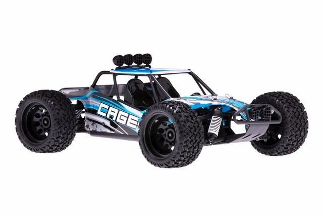Cars Elect RTR DHKHOBBY Cage-R 1:10 2wd Truck, Brushed. Battery & Charger included.