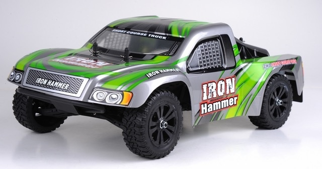 Cars Elect RTR HBX Iron Hammer 1:12 Scale Offroad 2WD RTR Short Course Truck.