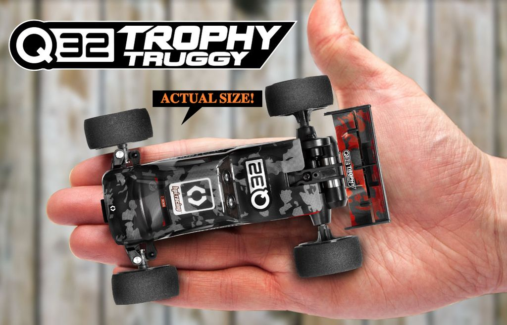 Cars Elect RTR HPI Q32 Trophy 1/32 2WD Electric  Truggy RTR