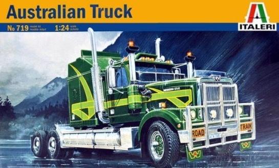 Plastic Kits ITALERI (N) Australian Western Star Truck  Plastic Model Kit 1:24 Scale
