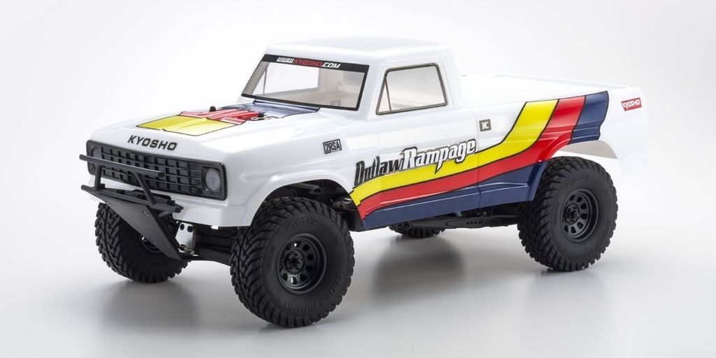 Cars Elect RTR KYOSHO 1/10 EP 2WD  2rsa r/s Outlaw Rampage T1