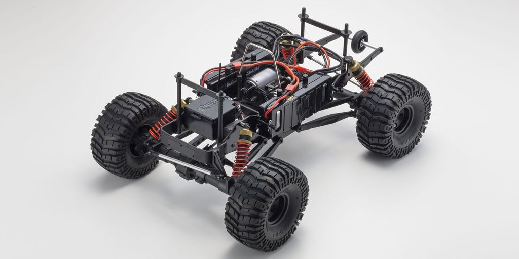 Cars Elect RTR KYOSHO 1/8 EP-MT 4WD r/s Mad Crusher VE