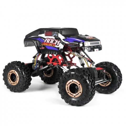 Cars Elect RTR HBX Rock Fighter, 1/10 Crawler, 4WD, Brushed. Battery & Charger included.