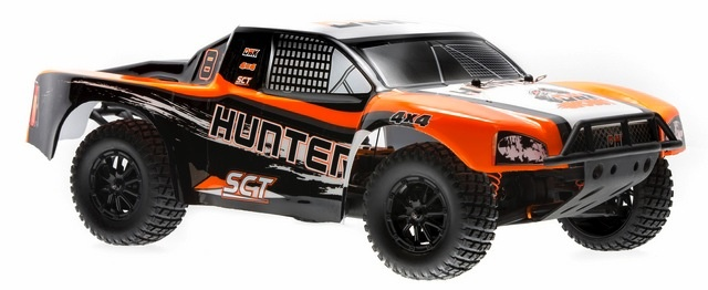 Cars Elect RTR DHKHOBBY Hunter 1:10 SCT, Brushed 4WD, Battery & Charger.