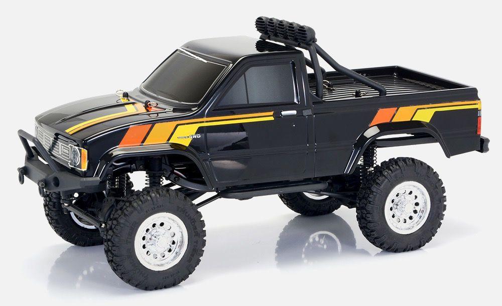 Cars Elect RTR Thunder Tiger 1/12 RTR Toyota Hilux Black