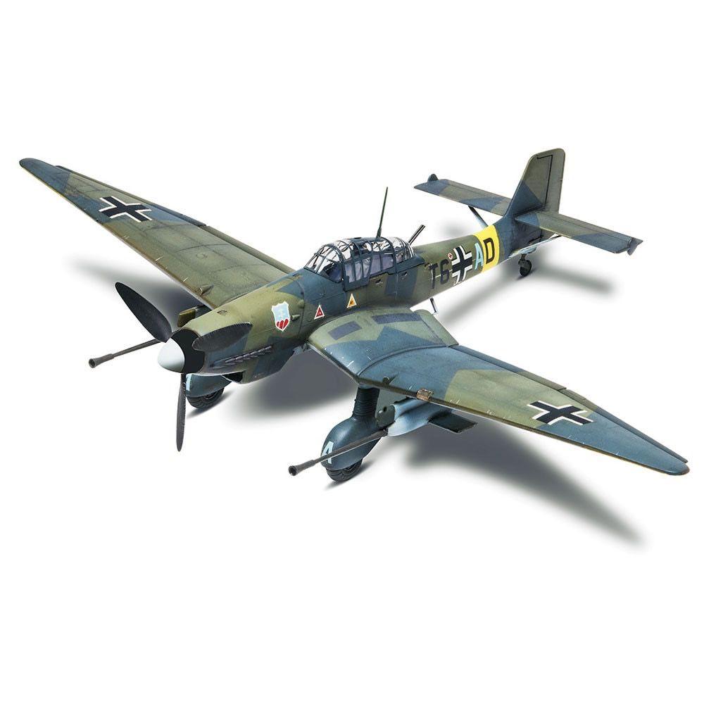 Plastic Kits Revell  Stuka Ju 87G-1 1:48 Scale Plastic Model Kit