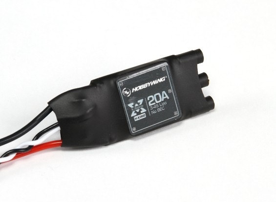 General Hobbywing XRotor 20A APAC Brushless ESC 3-4S For RC Multicopters