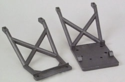 Parts Traxxas Skid Plates (front & rear) suit Monster Mutt