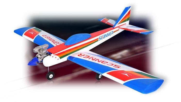 Aircraft Glow Phoenix Scanner 40/46 ARF Low Wing