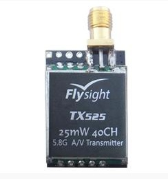 Receiver FlySight 5.8G 25mW Tx only with Audio & Video function 40Ch.