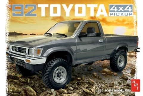 Plastic Kits AMT (new) 1:20 1992 Toyota 4X4 Pick-Up