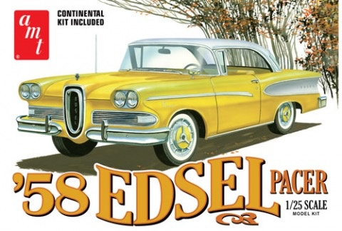 Plastic Kits AMT (new) 1:25 1958 Edsel Pacer Car