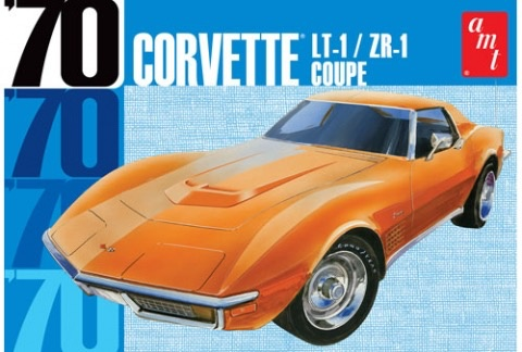 Plastic Kits AMT (new) 1:25 1970 Chevy Corvette Coupe Car